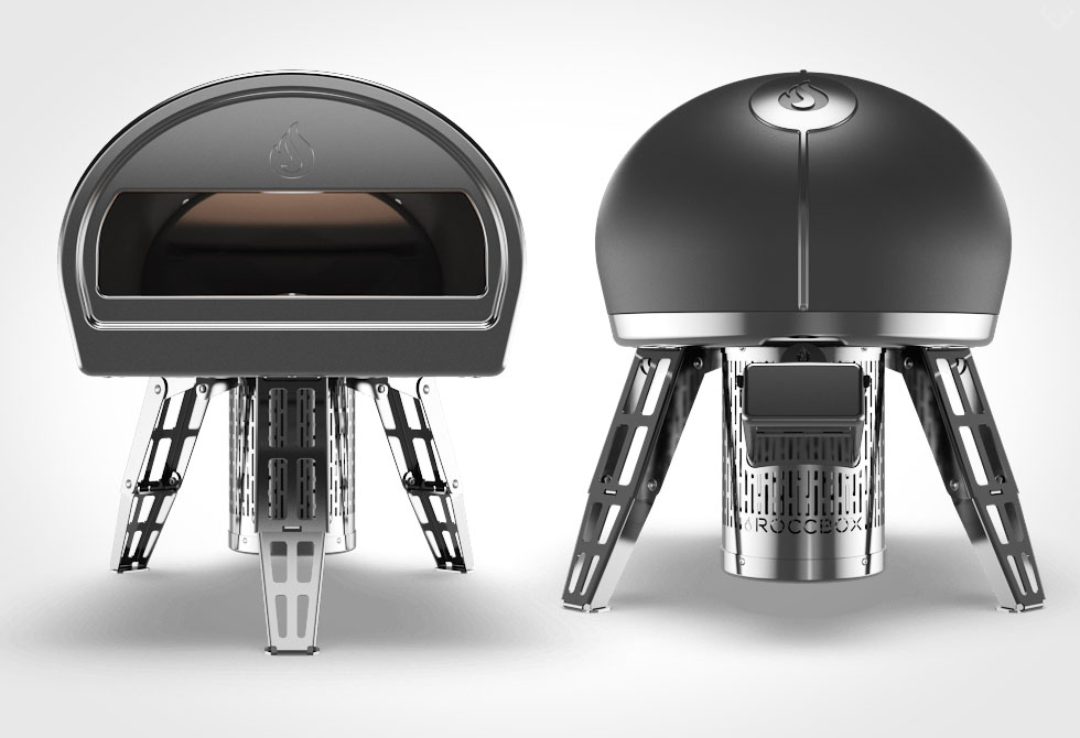 Roccbox Oven - Front and Back