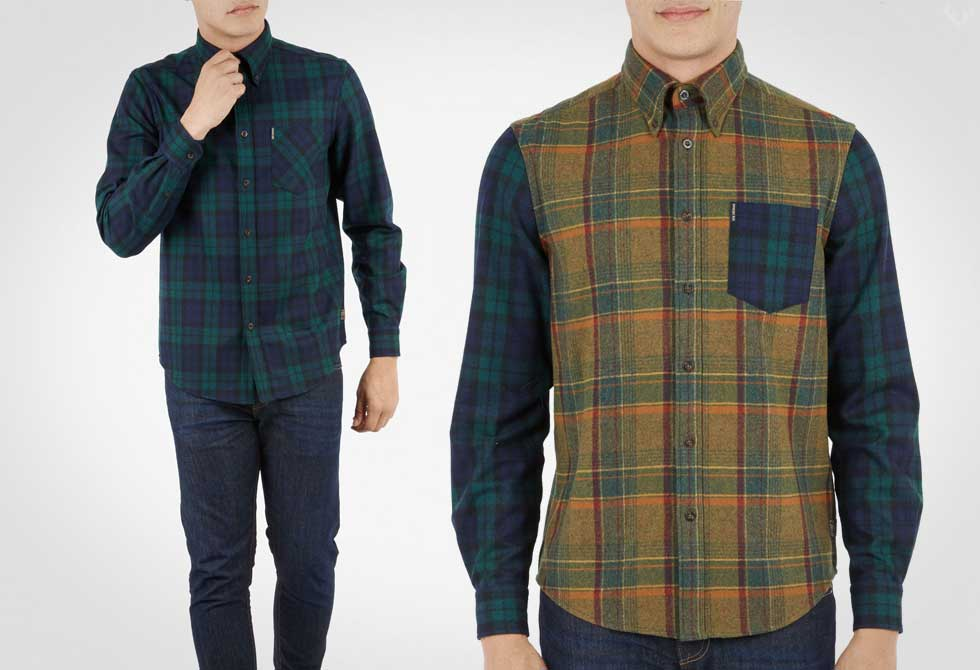 Ben Sherman x Pendleton Wool Shirt