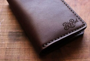 Big Red Bi-Fold Wallet