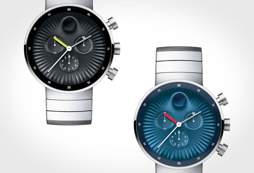 Movado x Yves Behar Edge Chronograph