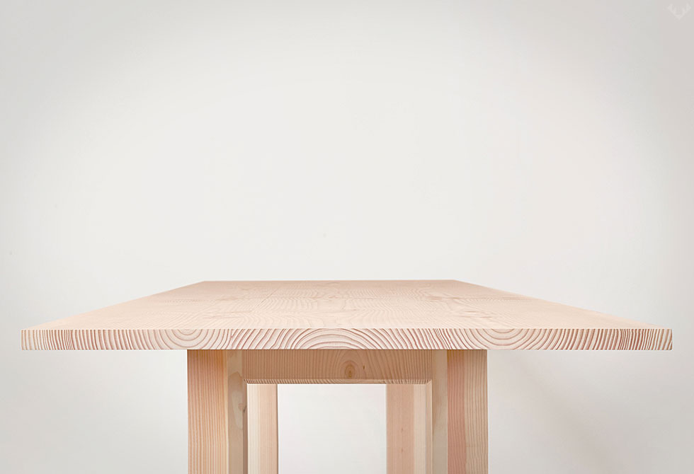 Planks Dining Table by Benchmark