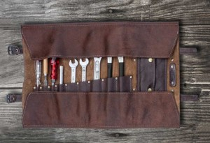 Duke & Sons Leather Tool Roll
