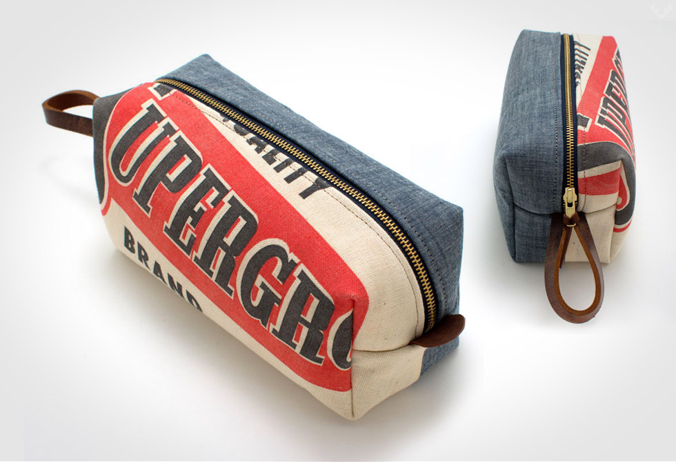 Vintage-seed-sack-and-Japanese-Denim-Travel-Kit-LumberJac