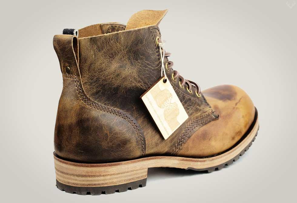 Dundas Footwear x Livid Jeans Boots