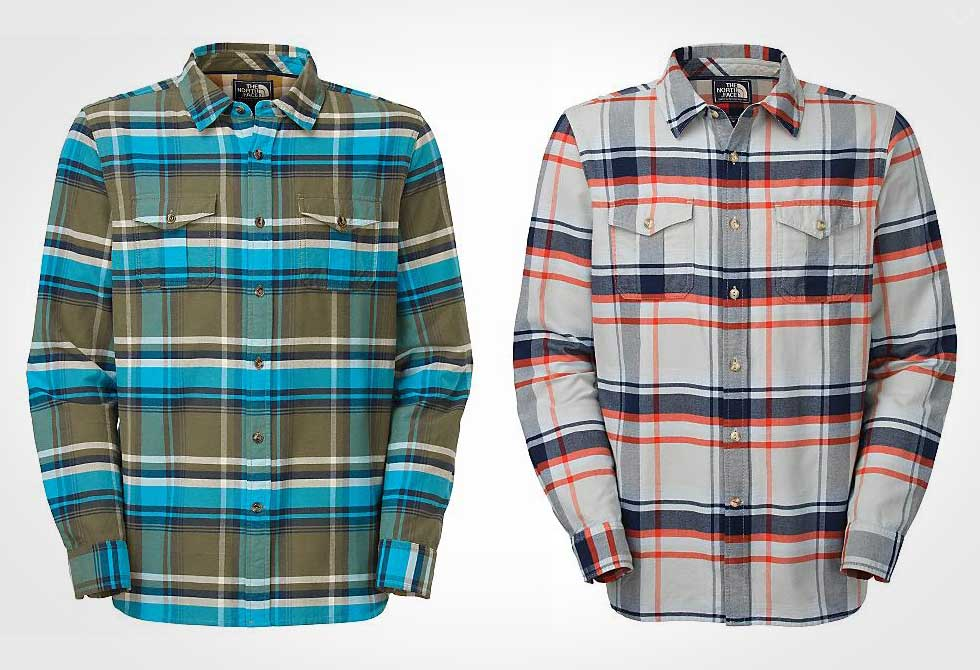 The North Face Bearhead Plaid Shirt