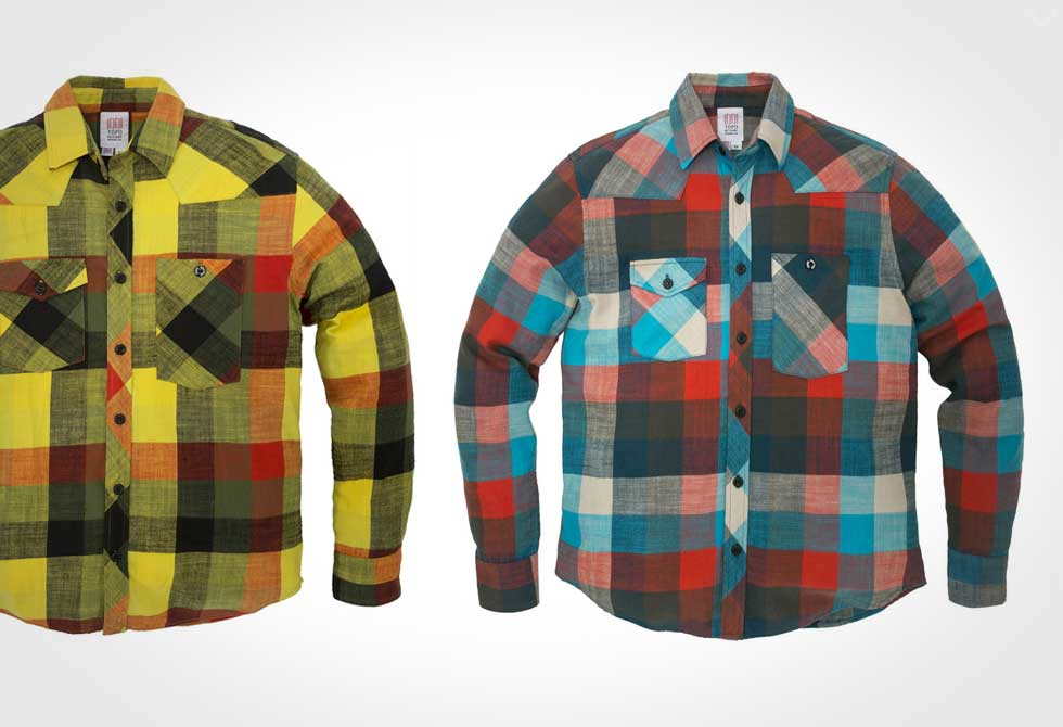 Topo Designs Plaid Flannel Shirt
