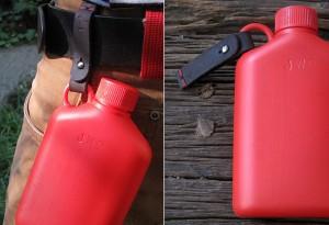 Hip Flask by Bush Smarts