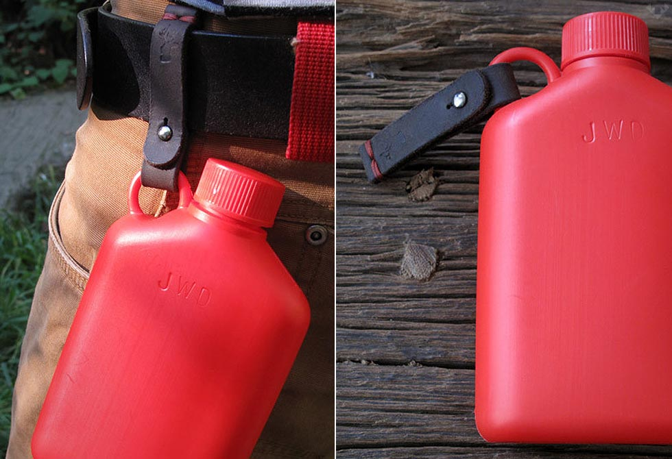 Hip Flask by Bush Smarts