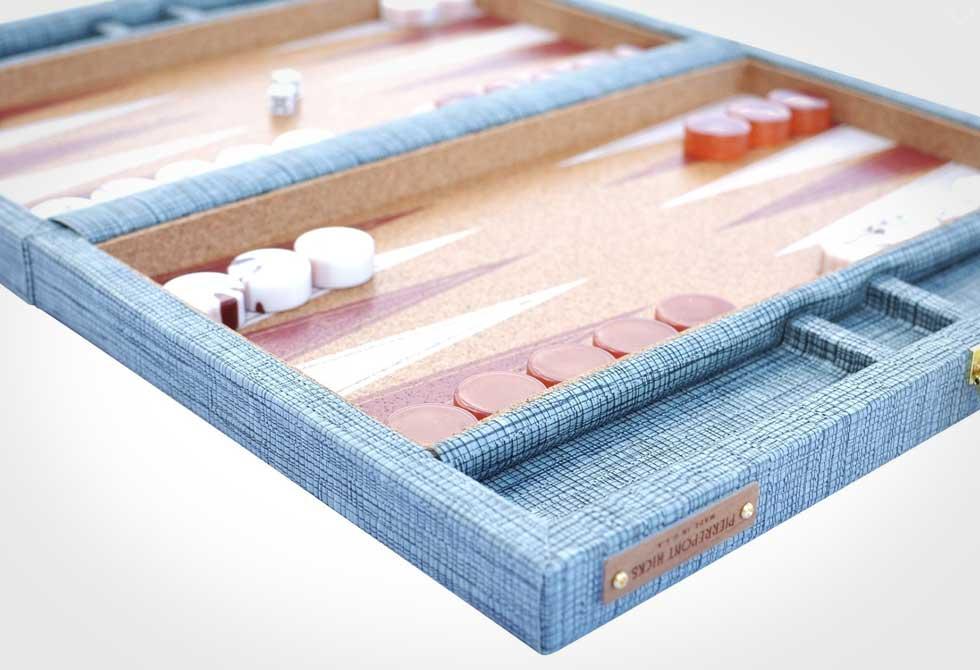 Pierrepont Hicks Backgammon Set
