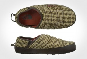 The North Face Thermoball Traction Mule II Slipper - Houndstooth top and side view