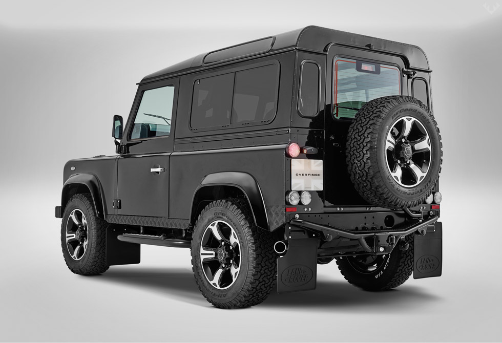 The Overfinch Defender 40th Anniversary Limited Edition