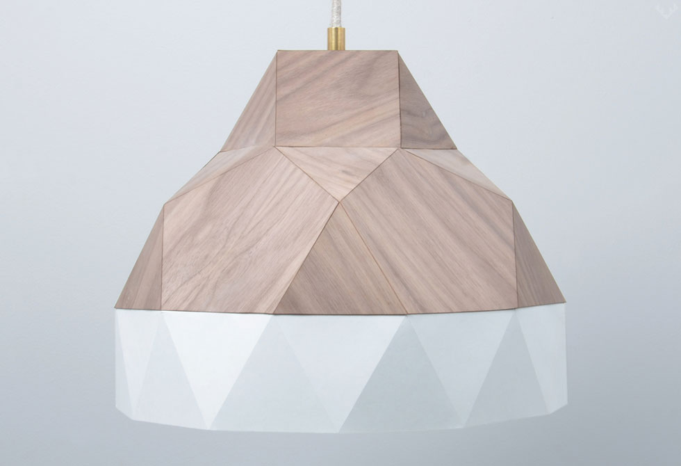 Lignum Fold Lampshade