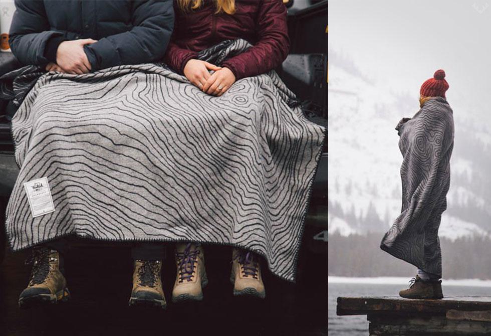 Woolrich x Huckberry Blanket