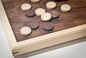 ATELIER-D Wood Checkers