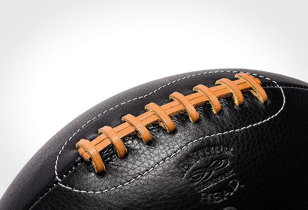 Hand Made Leather Head Football