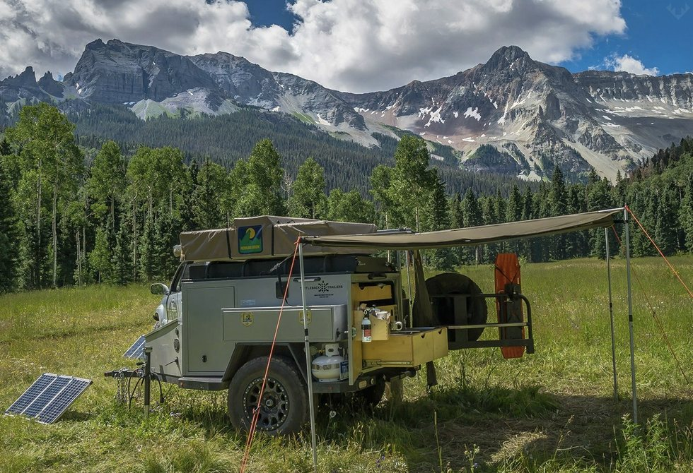 Turtleback Off-road Trailer LumberJac
