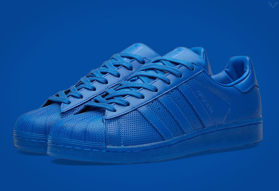 adidas Originals Superstar Adicolor Sz 9 Blue S80327