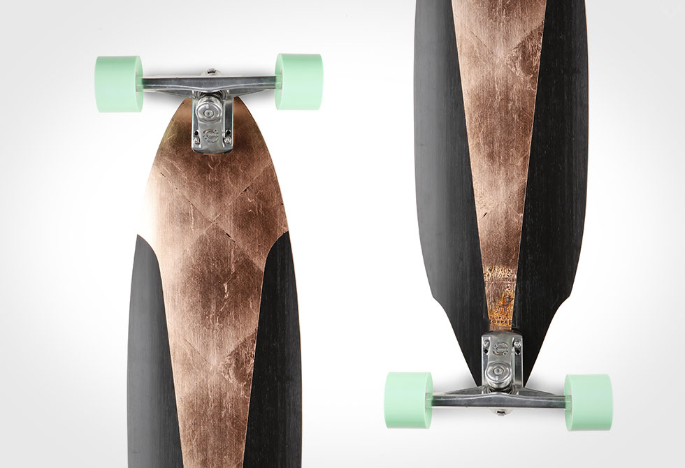 Demon Collector's Edition Bamboo Longboard