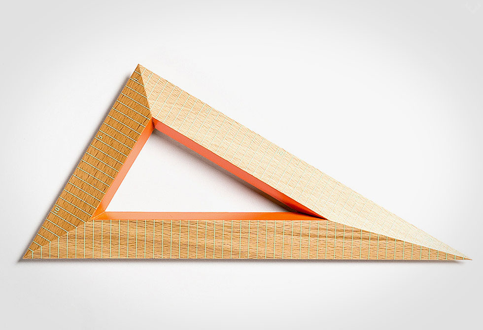 Hay Wooden Triangles