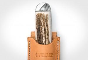 Civilware Striker and Cutter Elk Knives
