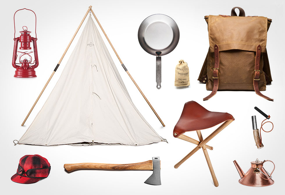 Old School Camping Gear LumberJac