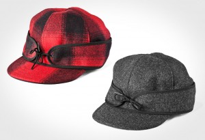 Buffalo Check Mackinaw Wool Cap