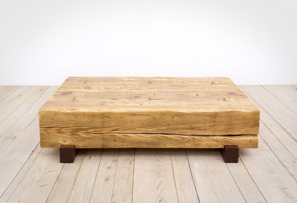 Beam Coffee Table Made In The Usa Lumberjac
