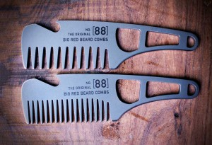 Big Red Stainless Steel No.88 Beard comb
