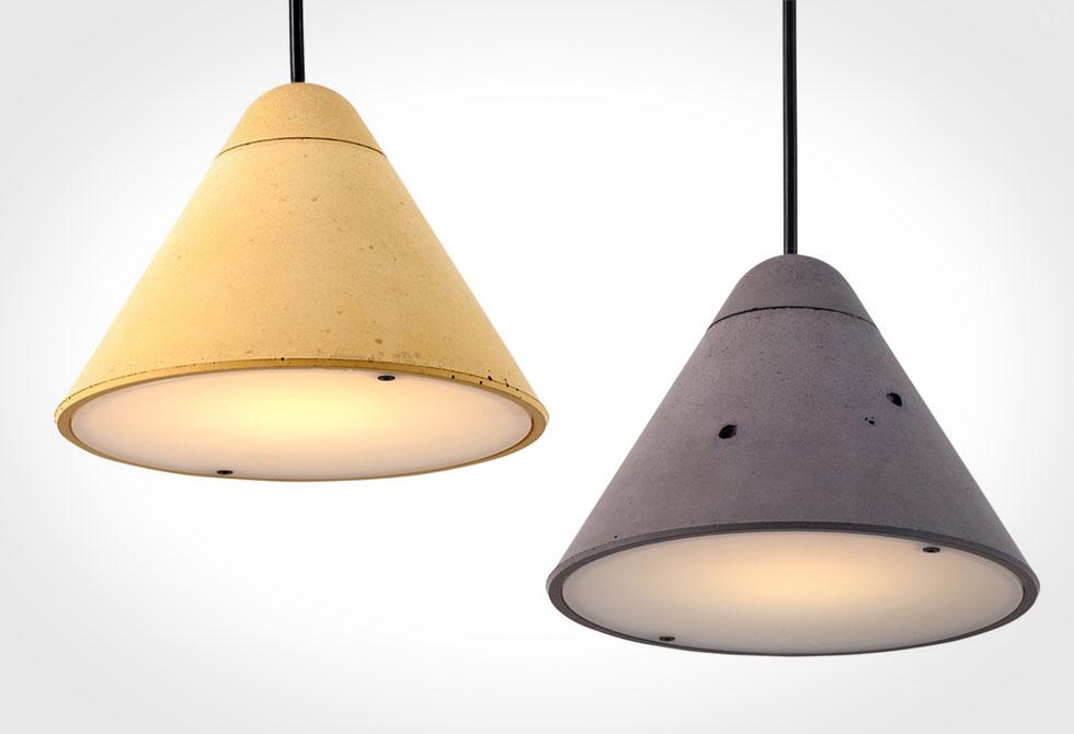 Concrete Bullet Lamp