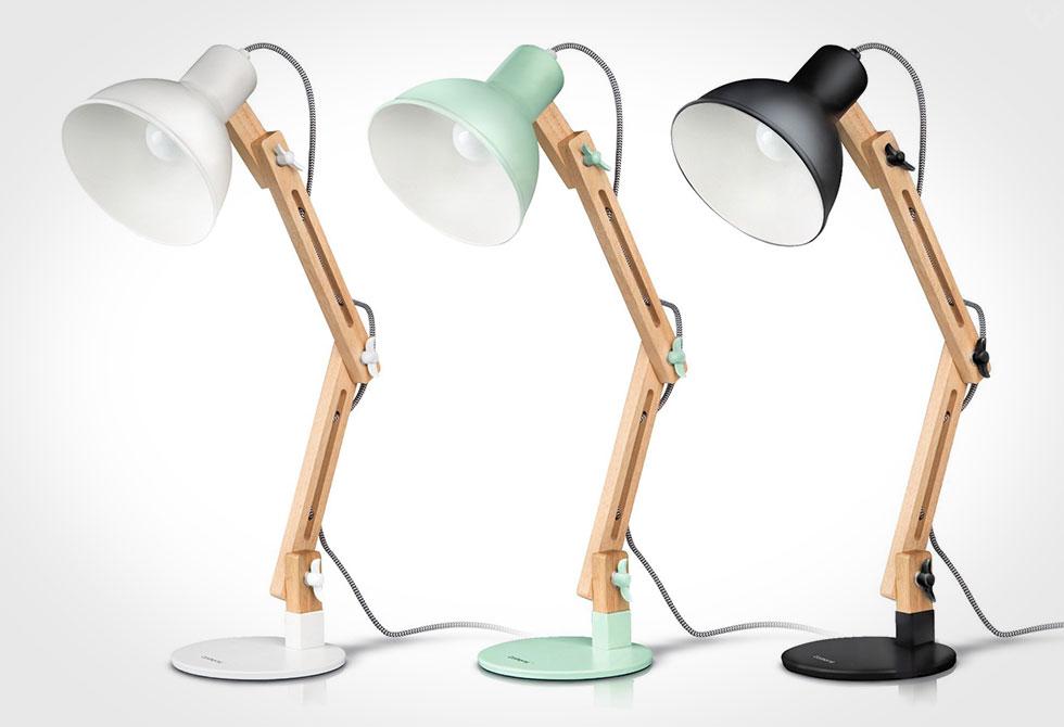 Tomons Swing Arm Desk Lamp Lumberjac