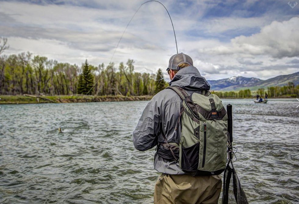 Catch Release Fly Fishing Back Pack Lumberjac