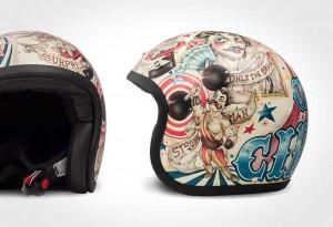 DMD Vintage Motorcycle Helmet