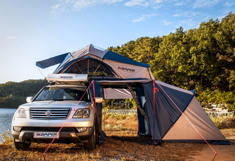 Road Trip Roof Top Tent Lumberjac