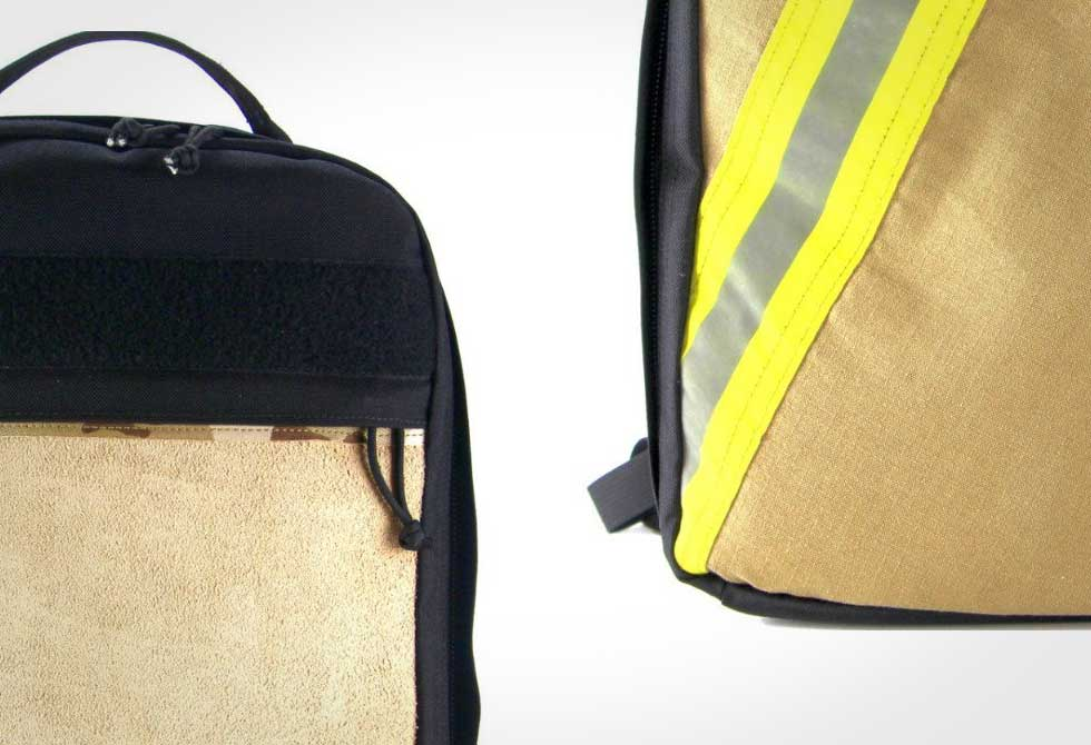 Recycled Firefighter - Backpack