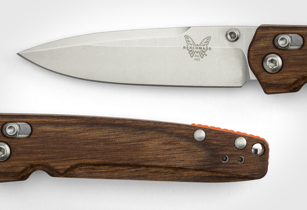 Shinola x Benchmade Custom 485 Valet Knife
