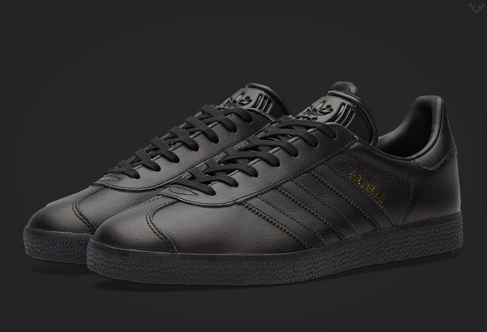 Core Black Adidas Gazelle