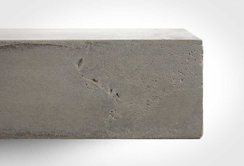 Lyon Beton Sliced L Concrete Shelf