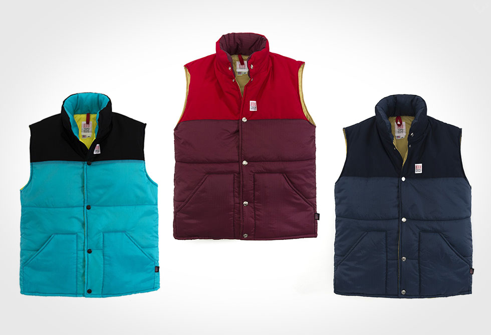 Fall layers by Topo Designs - Puffer Vest