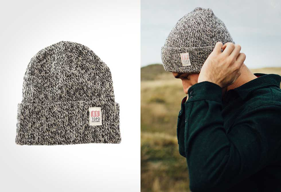 Fall layers by Topo Designs - Ragg Cap