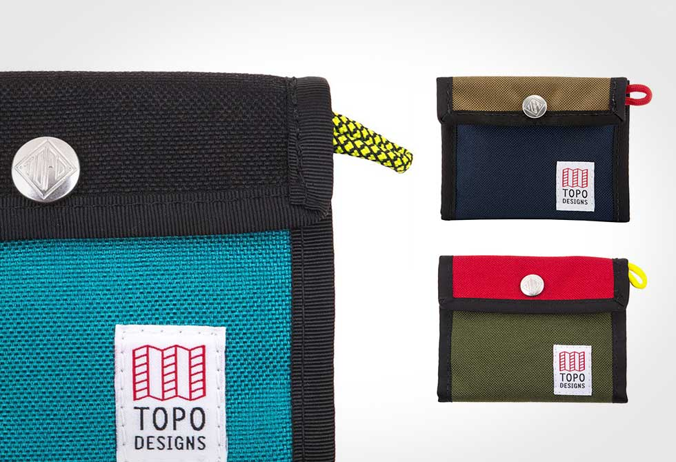 Fall layers by Topo Designs - Snap Wallet