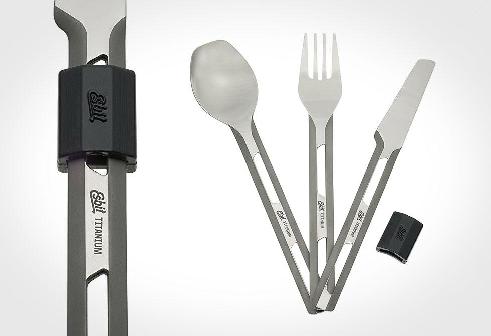 Esbit Titanium Cutlery Set