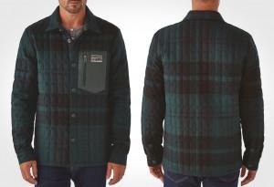 Patagonia Recycled Down Shirt Jacket
