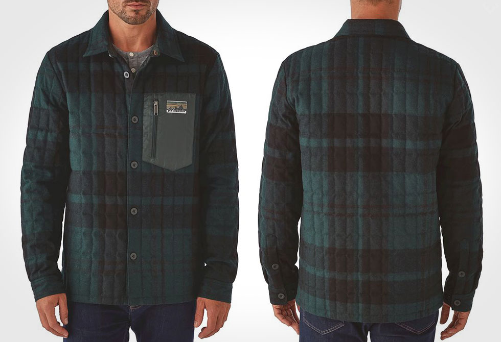 Patagonia Recycled Down Shirt Jacket