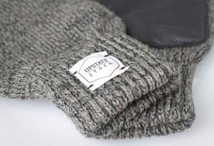Upstate Stock Ragg Wool and Deerskin Gull Gloves
