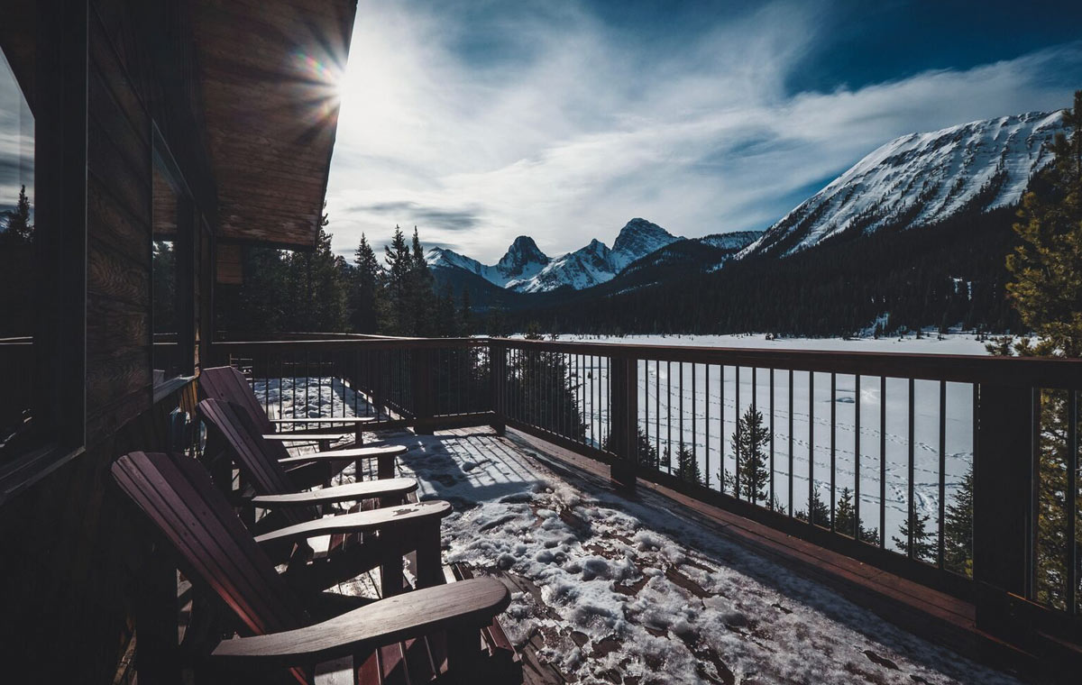 Mount Engadine Lodge LumberJac