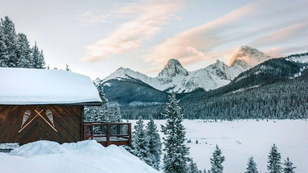 Mount Engadine Lodge LumberJac