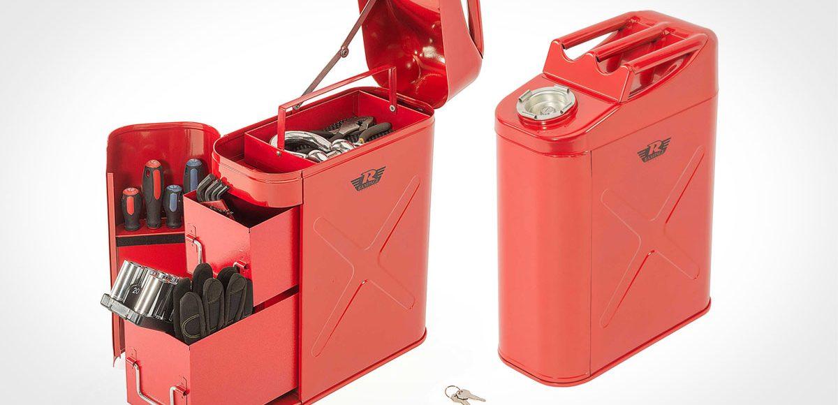 Rampage Locking Fuel Can Utility Tool Box