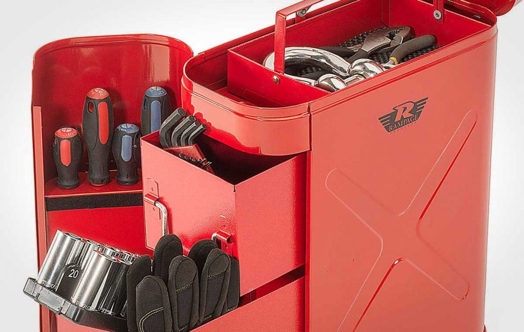 Rampage Locking Fuel Can Utility Tool Box