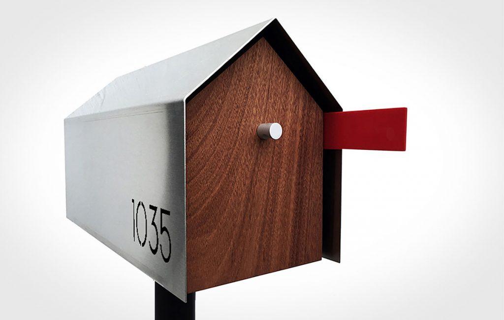 Deus Modern Mailbox