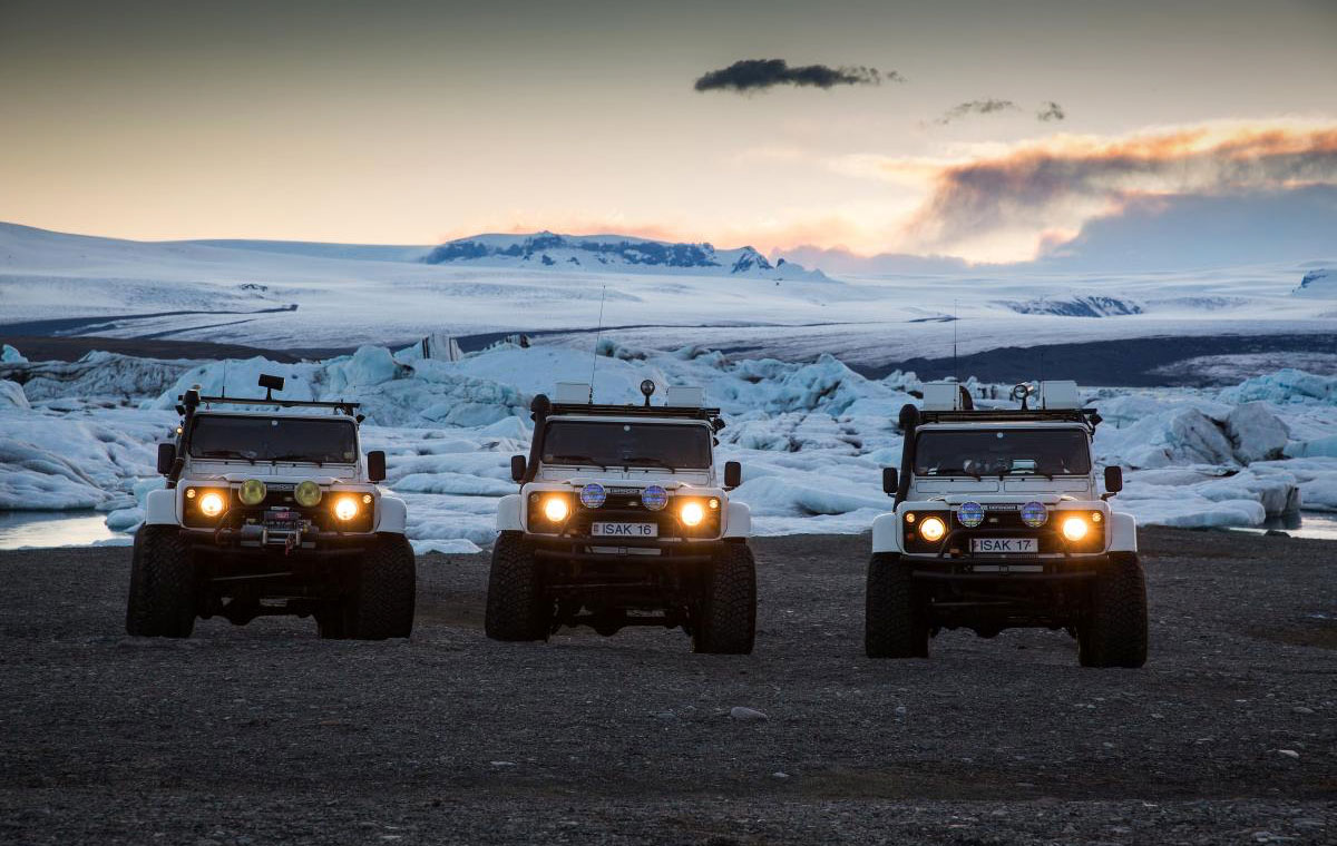 ISAK 4x4 Rental Iceland LumberJac